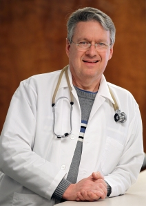 Dr. Tom Landholt. Photo by Bruce Stidham.