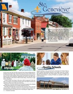 Read the Ste. Genevieve special advertising section.