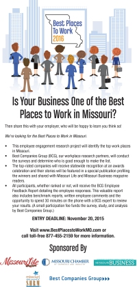 Download the 2016 Best Places to Work flier.