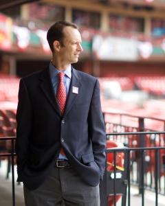 Bill DeWitt III, photo by Taka Yanagimoto of the St. Louis Cardinals.