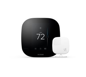The ecobee3 smart thermostat.