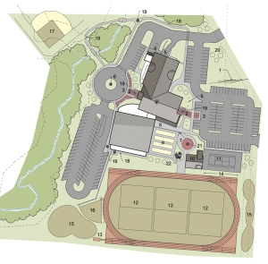 Plans for the new Training for Life campus.