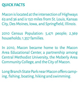 Macon quick facts